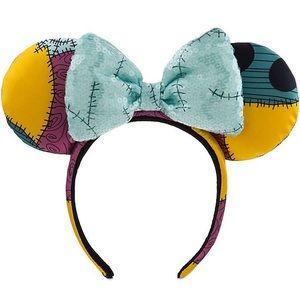 New Disney Parks sally Halloween Minnie Mouse Ears